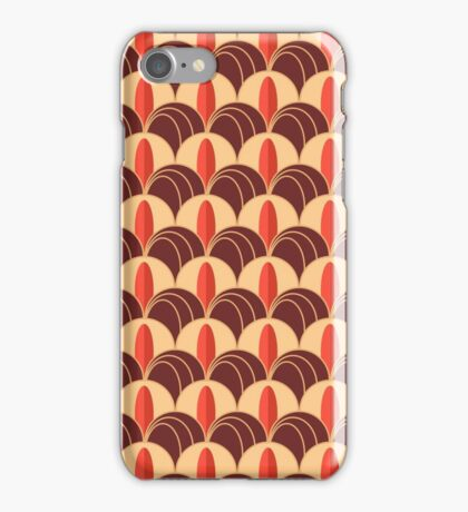 Pattern  Art Deco with bright feathers iPhone Case/Skin