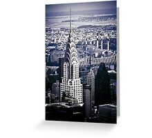 NYC - Chrysler Building Greeting Card