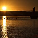 Sunrise at Lake Burley Griffin in Canberra/ACT/Australia (3) by Wolf Sverak