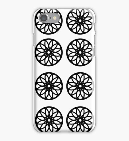 Wheel mandala. iPhone Case/Skin
