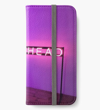 The 1975 Lost My Head Neon Sign iPhone Wallet/Case/Skin