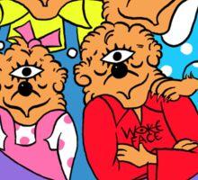 Woke Berenstein Bears Universe Sticker