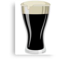 Dark Beer Canvas Print