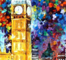Big Ben, London — Buy Now Link - http://goo.gl/Q4PhhB Sticker
