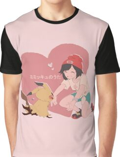 Mimikyu no Uta Graphic T-Shirt
