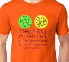 Diane´s birthday Unisex T-Shirt