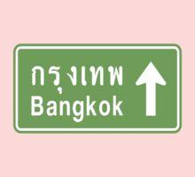 Bangkok, Thailand Ahead ⚠ Thai Road Sign ⚠ Kids Clothes
