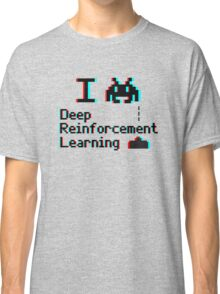 I heart deep reinforcement learning (8-bit 3D) Classic T-Shirt
