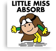 Little Miss Absorb Canvas Print