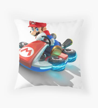 Mario Kart Throw Pillow