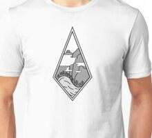 Mystical Japanese Mountains Unisex T-Shirt