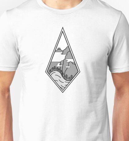 Mystical Japanese Mountains Unisex T-Shirt