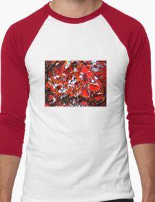 Red Chakra Men's Baseball ¾ T-Shirt