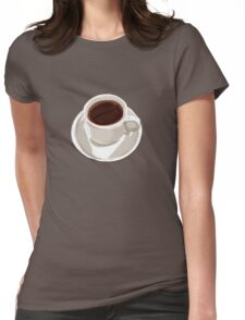 Filter coffee Womens Fitted T-Shirt