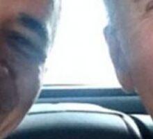 obama biden selfie heart Sticker