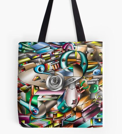 The illusion of City life Tote Bag