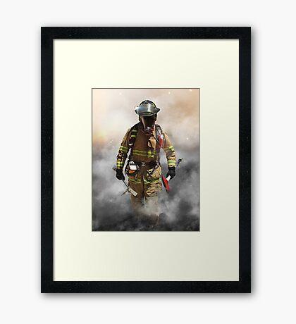 Smoke eater Framed Print