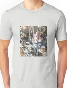Golden Dragonflies Dance Unisex T-Shirt