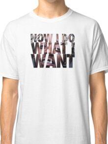 Lil Uzi Vert- Now I Do What I Want Classic T-Shirt