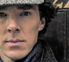 Sherlock Holmes, Benedict Cumberbatch, 221B Baker Street Sticker