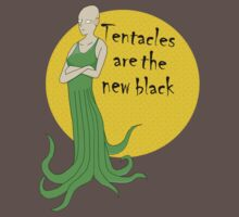 tentacles are the new black Kids Clothes