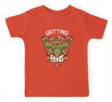 Getting Big Green Bowser Kids Tee