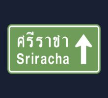 Sriracha, Thailand Ahead ⚠ Thai Traffic Sign ⚠ Kids Clothes