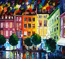 ROUIN- FRANCE - Leonid Afremov by Leonid Afremov