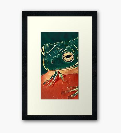 Hop to it.  Framed Print