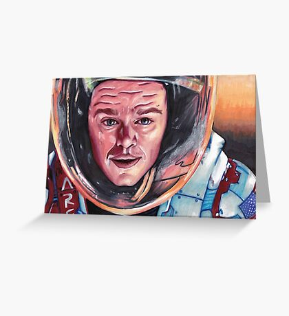 Mark Watney The Martian Greeting Card