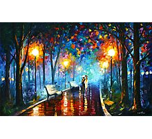MISTY MOOD - Leonid Afremov Photographic Print