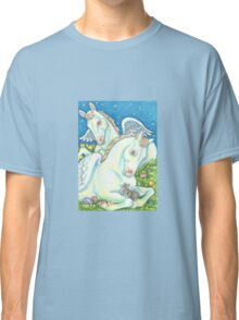ANGEL WINGS AND EASTER EGGS Classic T-Shirt