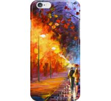 ALLEY BY THE LAKE - Leonid Afremov iPhone Case/Skin