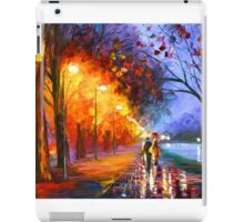 ALLEY BY THE LAKE - Leonid Afremov iPad Case/Skin