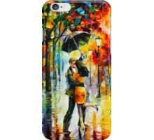 DANCE UNDER THE RAIN - Leonid Afremov iPhone Case/Skin