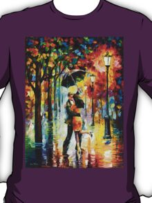 DANCE UNDER THE RAIN - Leonid Afremov T-Shirt