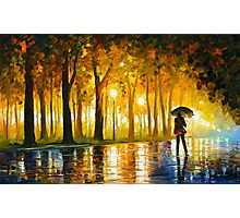 BEWITCHED PARK - Leonid Afremov Photographic Print