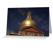 State House Dome > Greeting Card