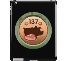 Glitch Achievement ham hocker iPad Case/Skin