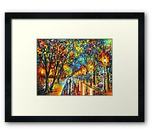WHEN THE DREMS CAME TRUE - Leonid Afremov Framed Print