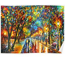WHEN THE DREMS CAME TRUE - Leonid Afremov Poster