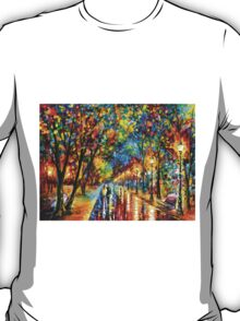 WHEN THE DREMS CAME TRUE - Leonid Afremov T-Shirt