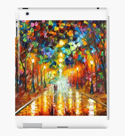 FAREWELL TO ANGER - Leonid Afremov iPad Case/Skin