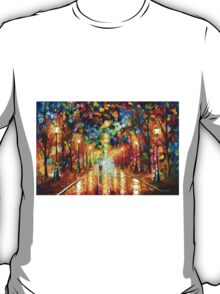 FAREWELL TO ANGER - Leonid Afremov T-Shirt