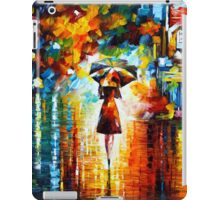 rain princess - Leonid Afremov iPad Case/Skin