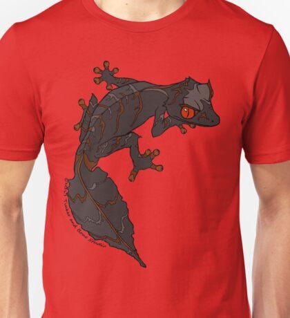 Black Satanic Leaftail Gecko Unisex T-Shirt