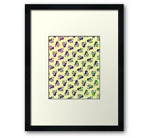 Psychedelic Snails Framed Print