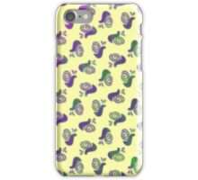 Psychedelic Snails iPhone Case/Skin