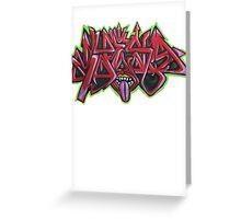 Graffiti Tees 12 Greeting Card