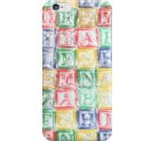 Children's Blocks iPhone Case/Skin